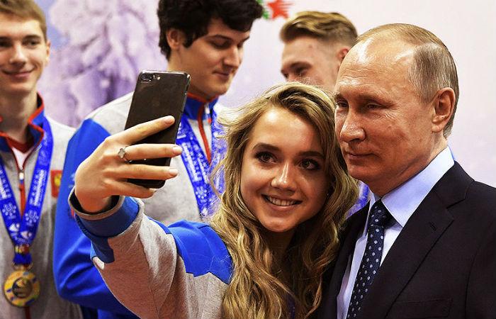 Путин: РФостается лидером мирового спорта, невзирая наситуацию вокруг олимпийцев