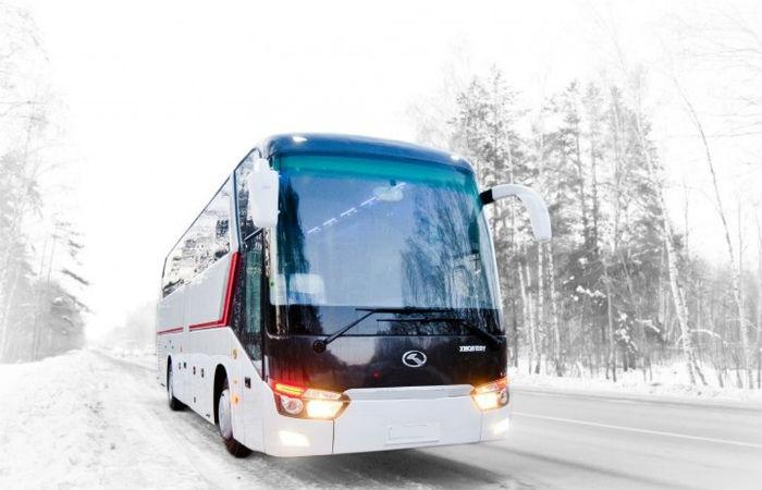 Томский автовокзал отменил ввыходные ряд рейсов из-за сильного мороза